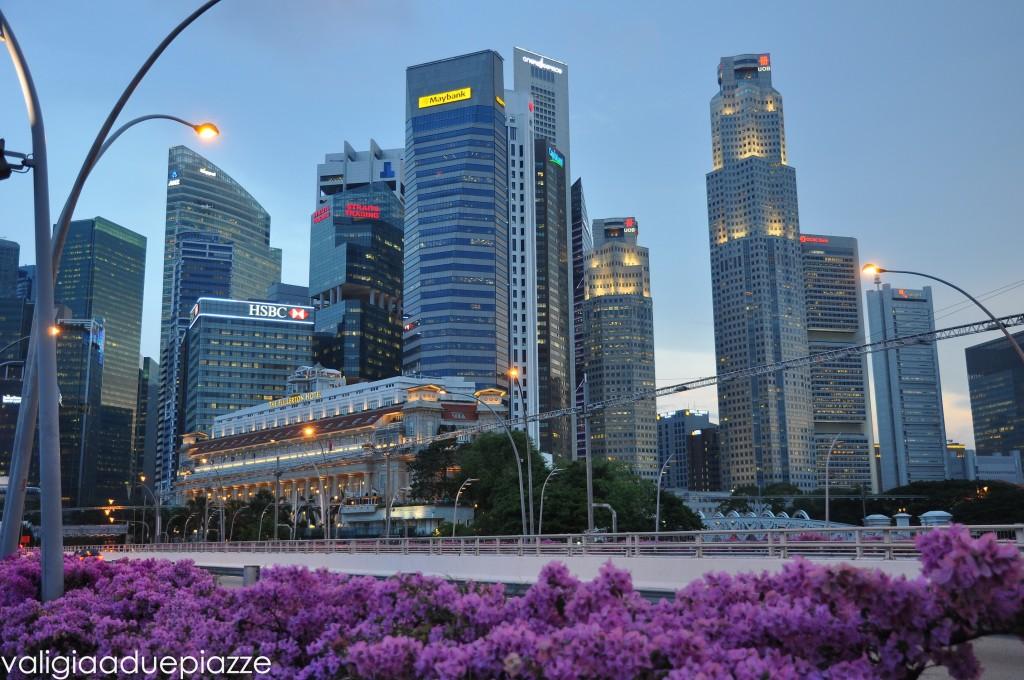 Skyline Singapore baia