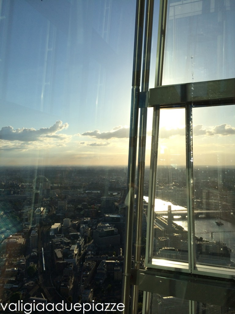 Panorama The Shard Londra