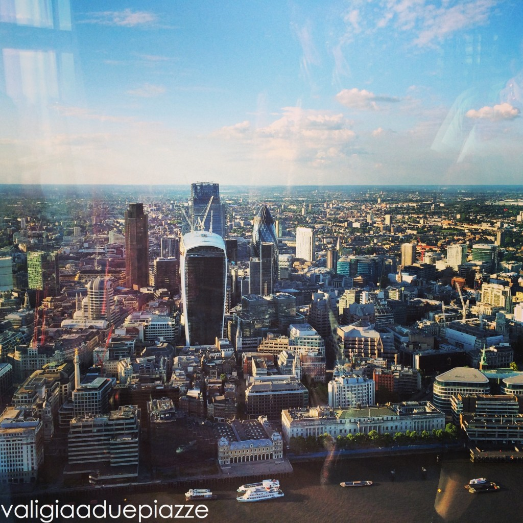 The City from The View Shard