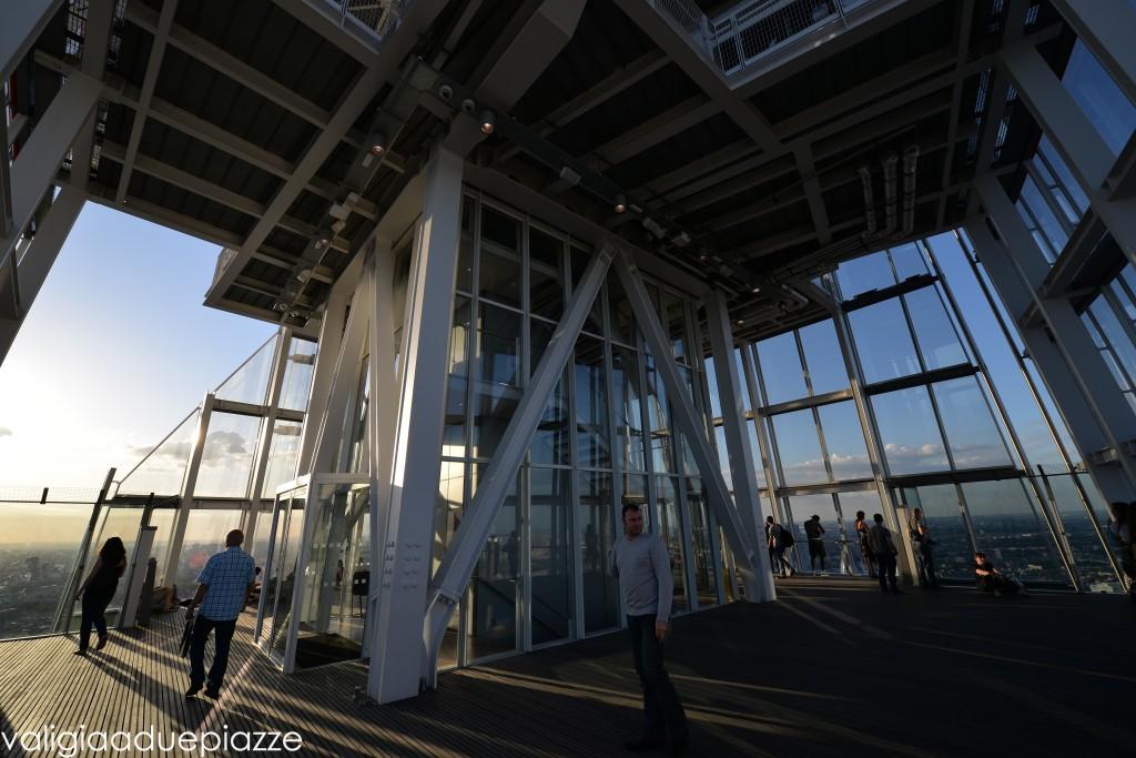Piattaforma The View Scheggia Londra