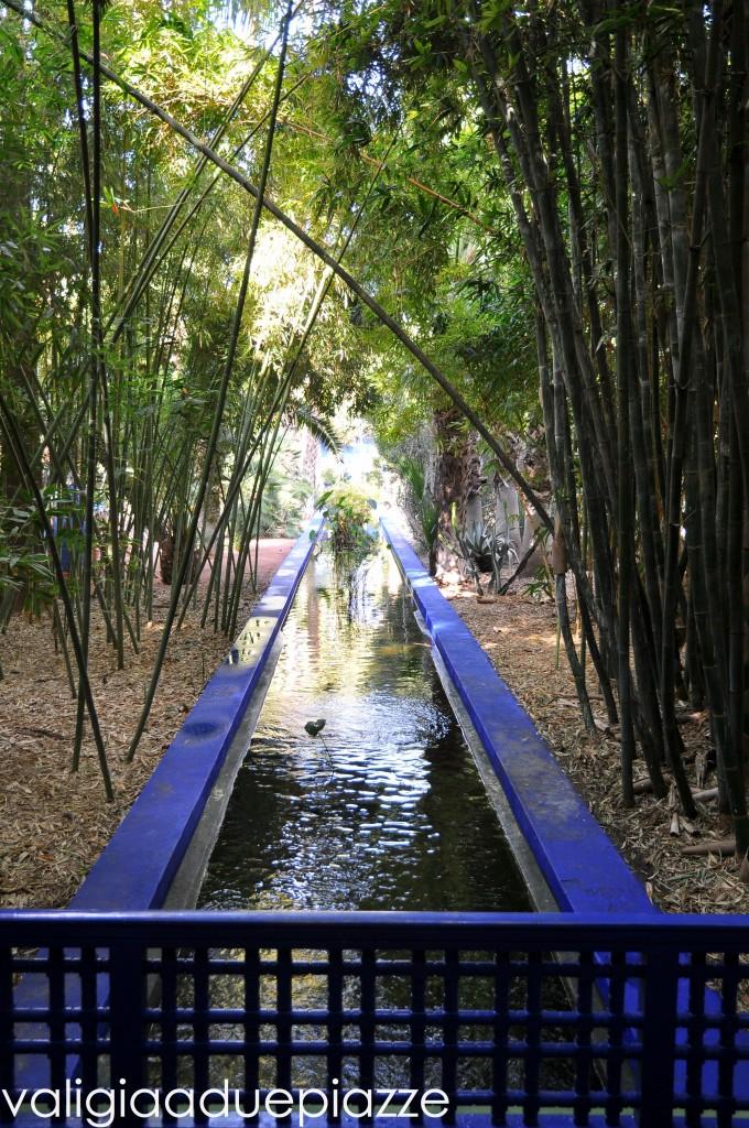 corsi d'acqua al Jardin Majorelle
