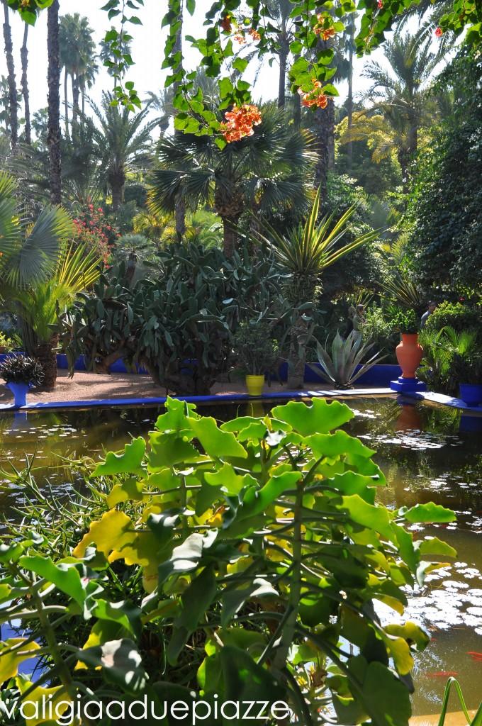 jardin majorelle marrakech YSL