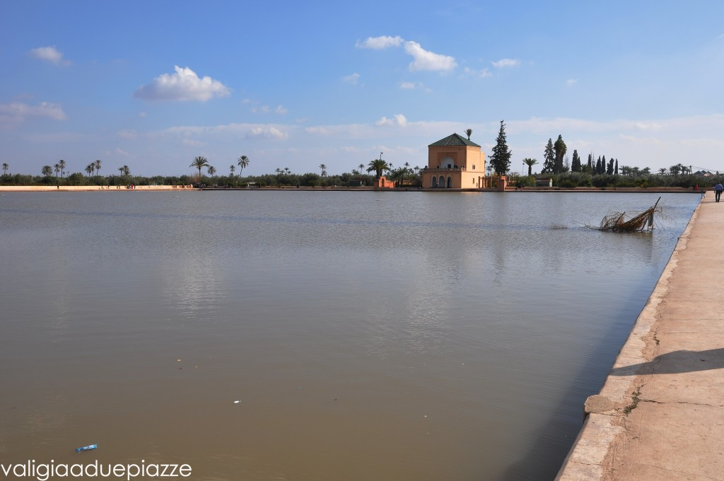 bacino artificiale giardini menara