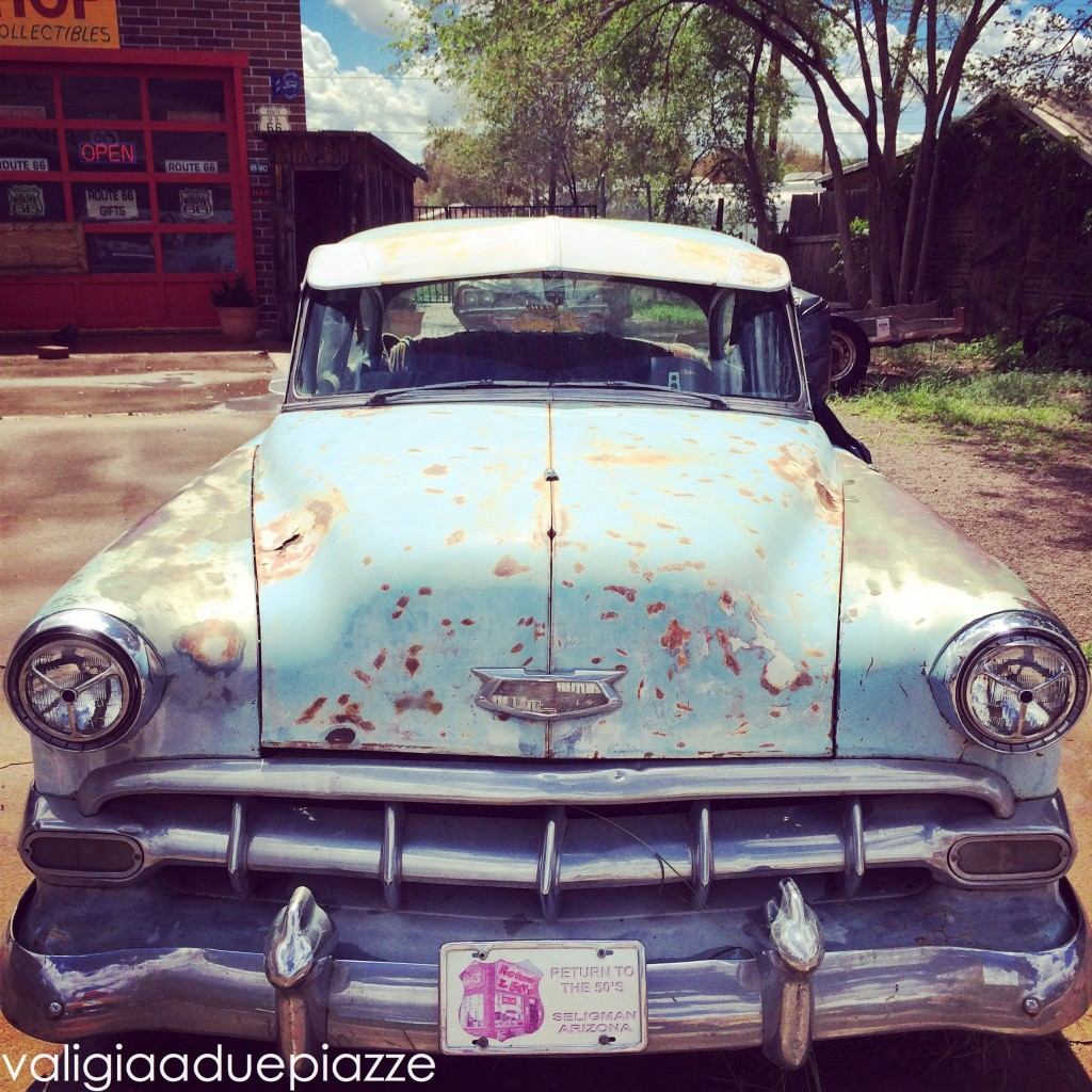 Route 66 Seligman Cars