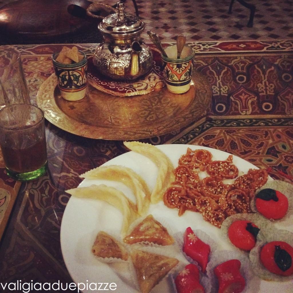 dolci marocchini, riad princesse du désert