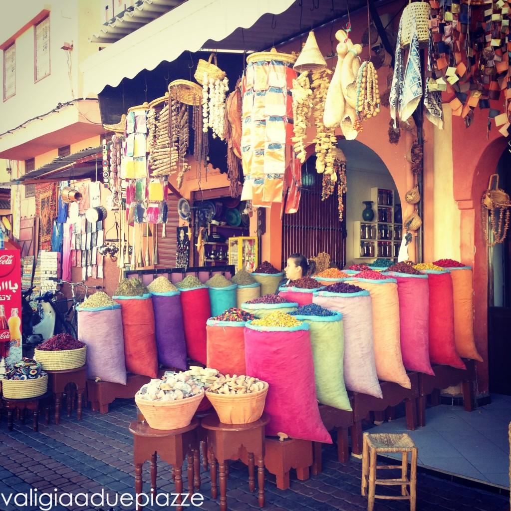 medina marrakech spezie