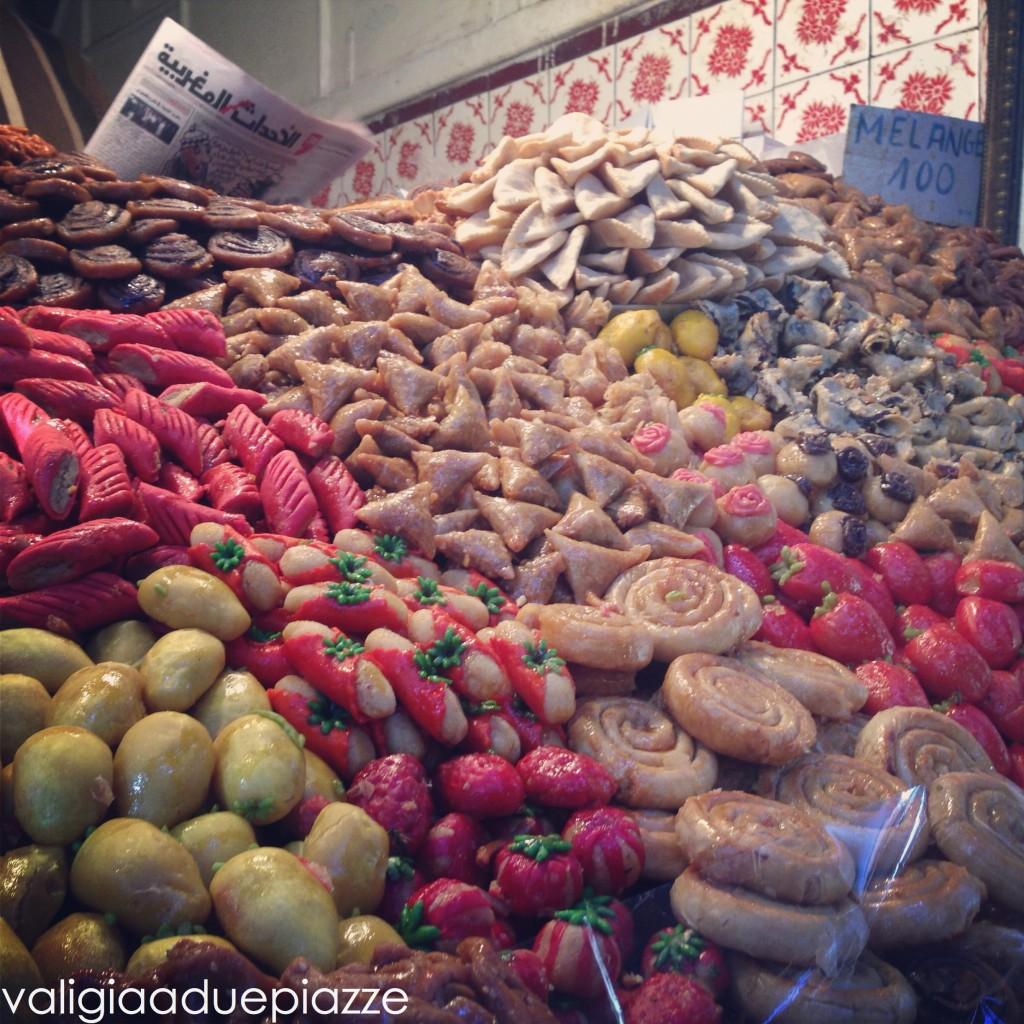 dolci di marzapane marrakech marocco