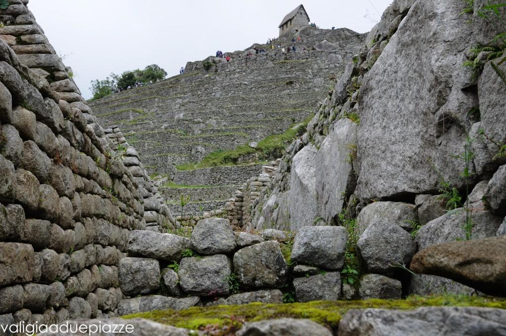 pietre machu picchu Capanna del Custode