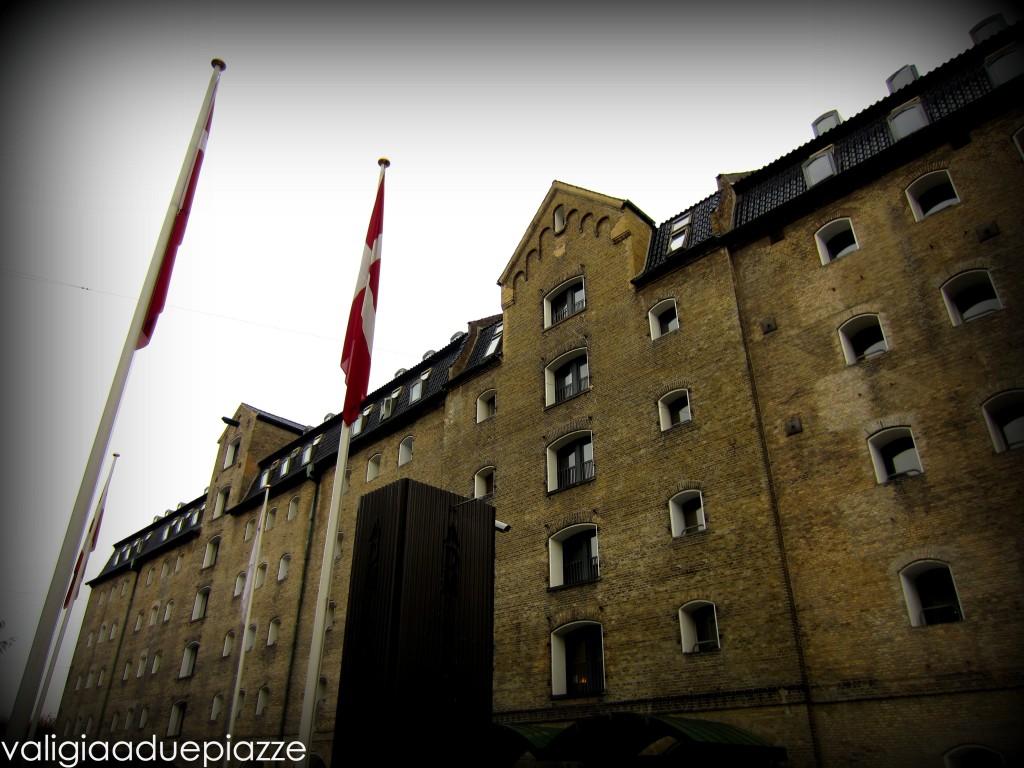 L'esterno del Copenaghen Admiral Hotel