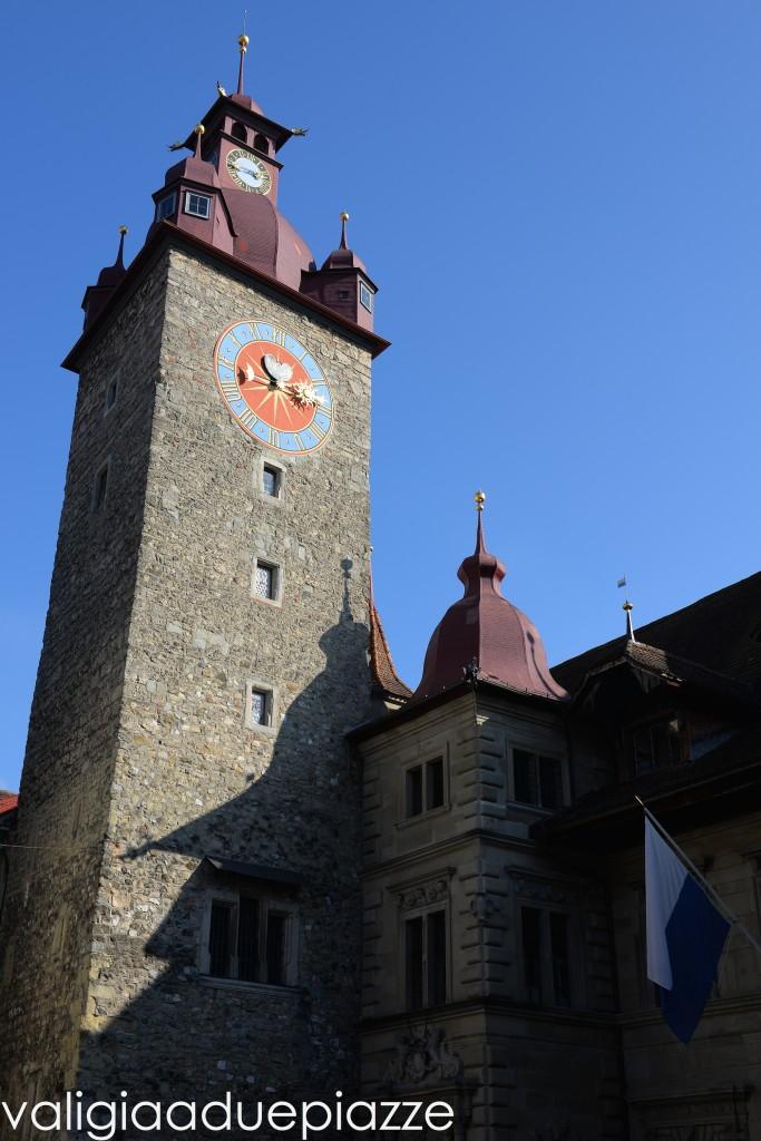 piazza del municipio lucerna