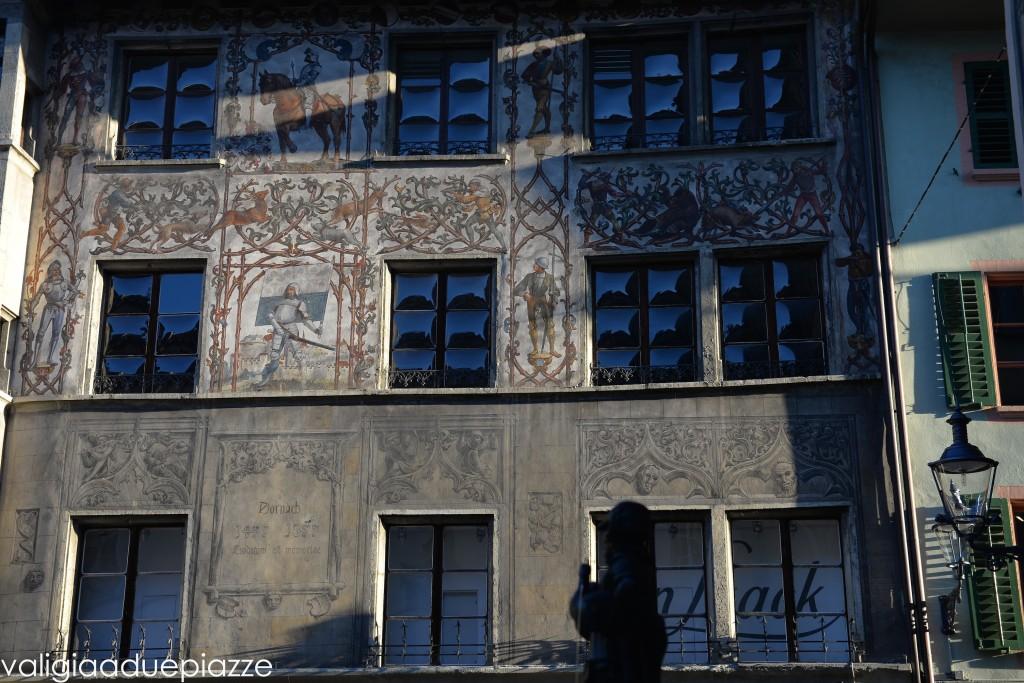 affreschi città vecchia lucerna