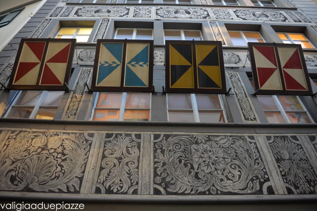 palazzi storici centro lucerna