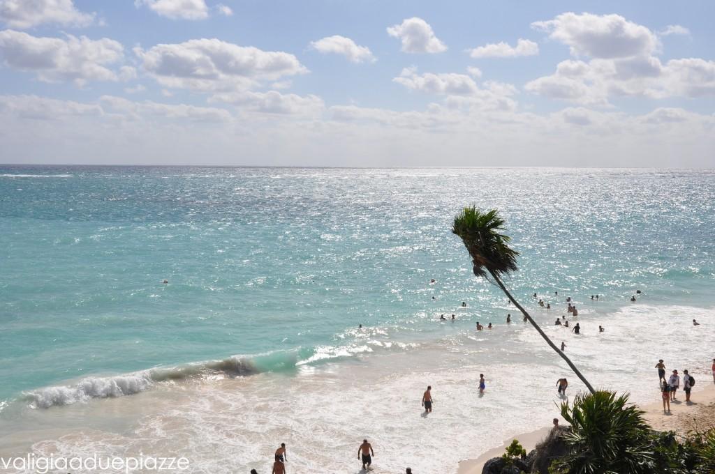 playa paraíso dalle rovine maya di tulum