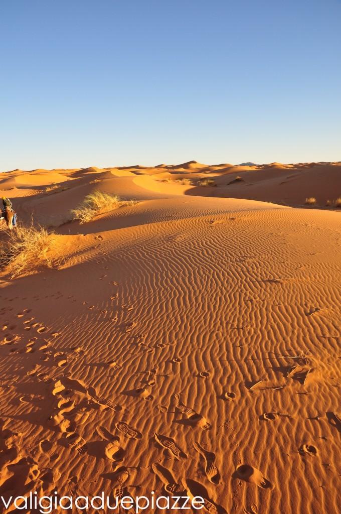 tramonto deserto sahara
