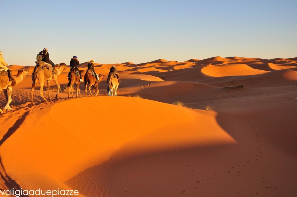 tramonto sahara
