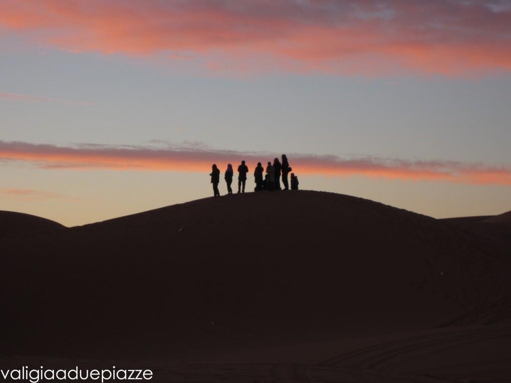 alba deserto sahara marocco
