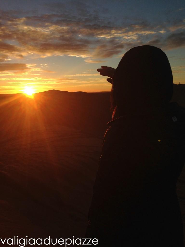 alba erg chebbi marocco sahara deserto