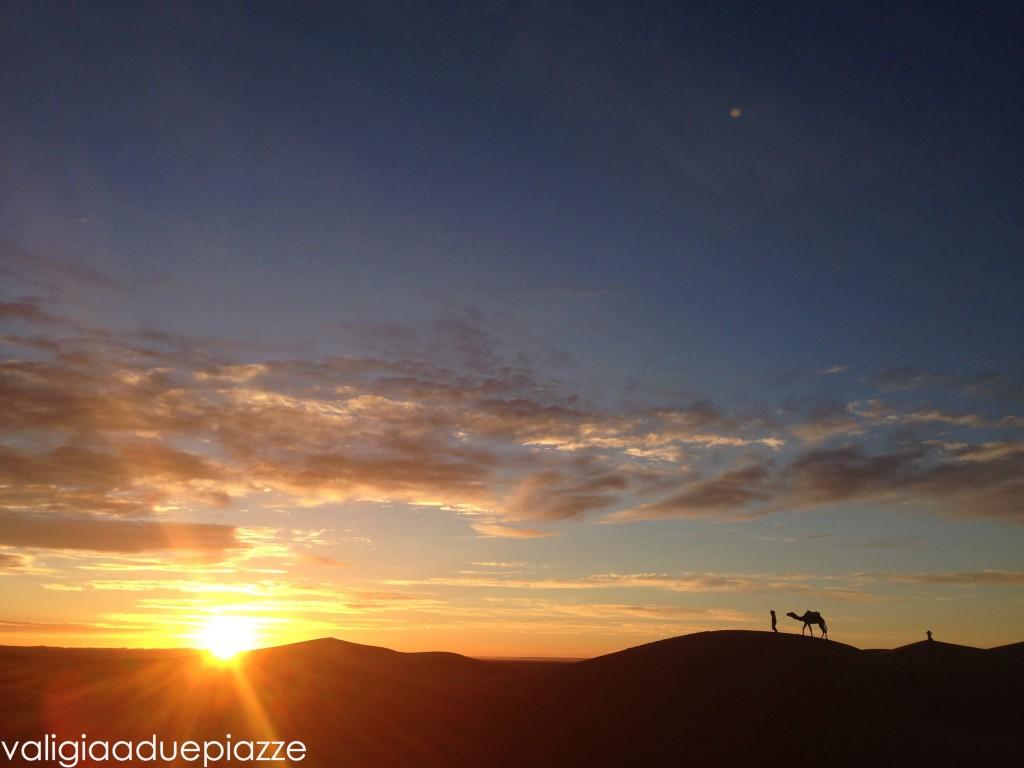 alba dune deserto marocco erg chebbi