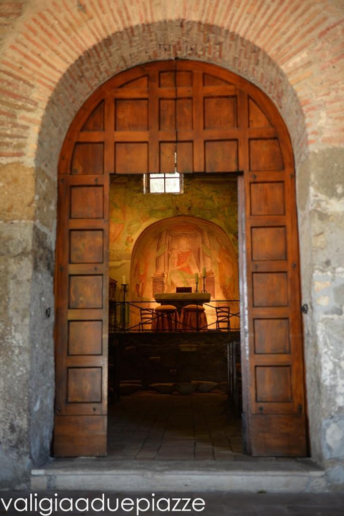 ingresso chiesa san liberato bracciano