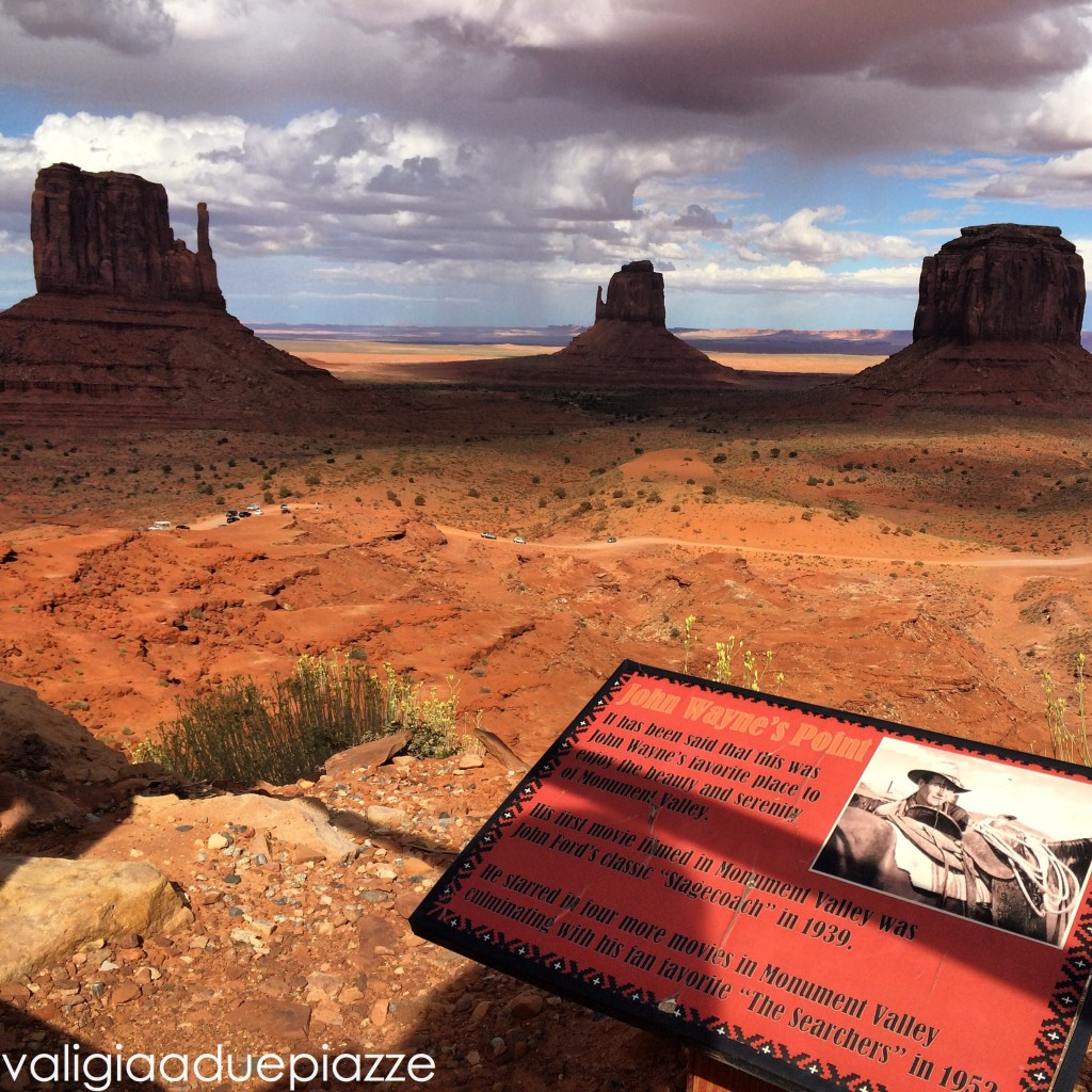 John Wayne's Point Monument Valley