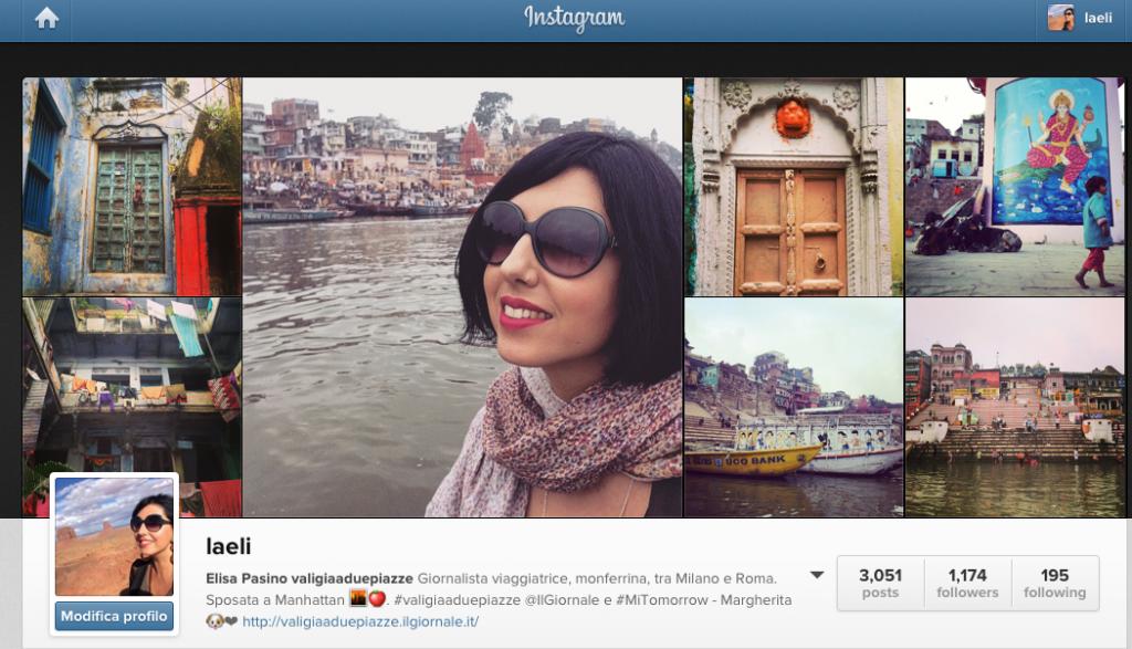 instagram valigia a due piazze