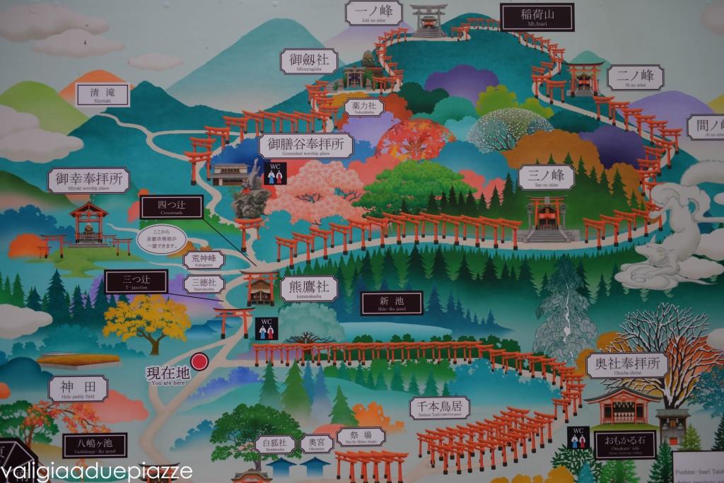 mappa fushimi inari