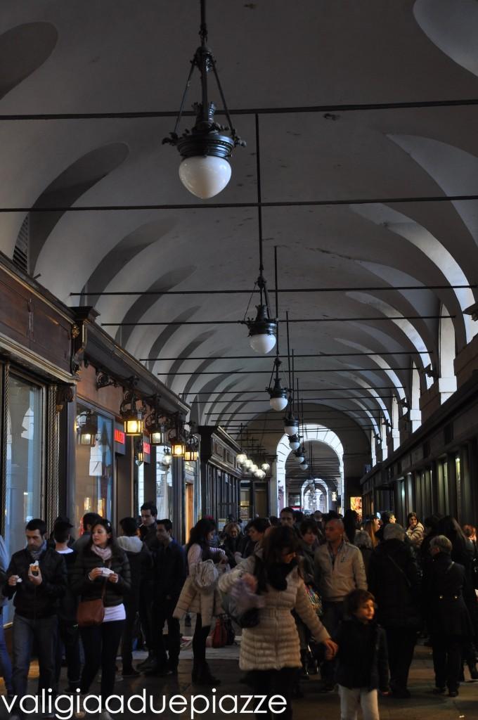 portici piazza castello torino
