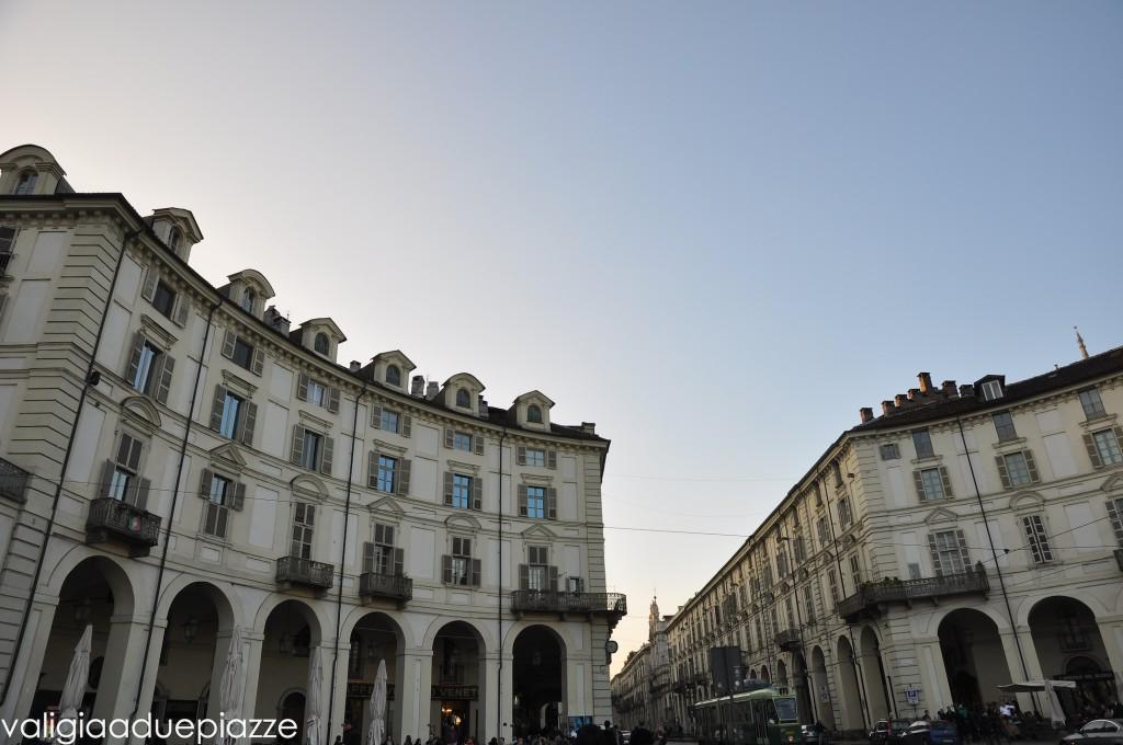 Piazza Vittorio e Via Po Torino