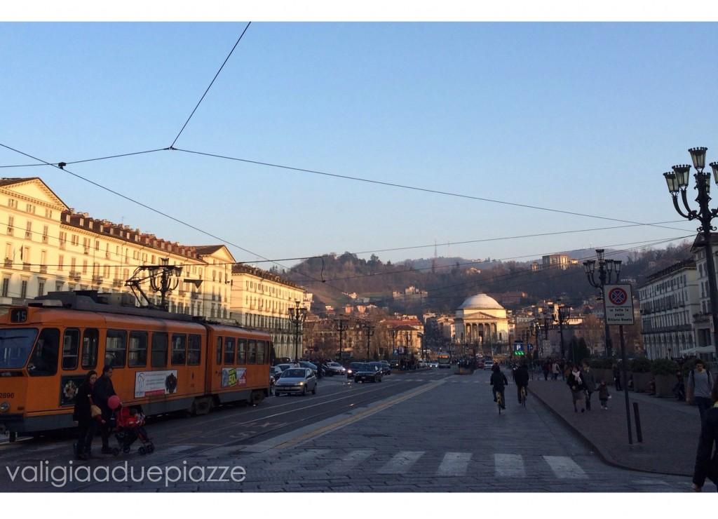 piazza Vittorio Gran Madre colline Torino