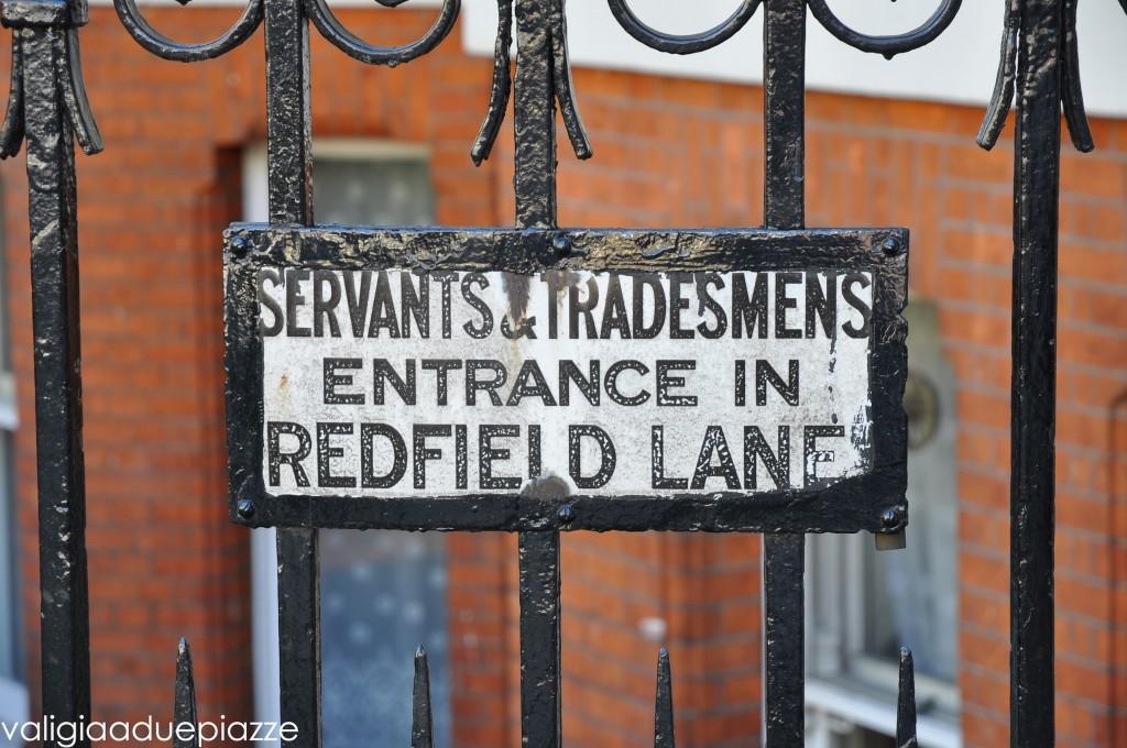 servants entrance