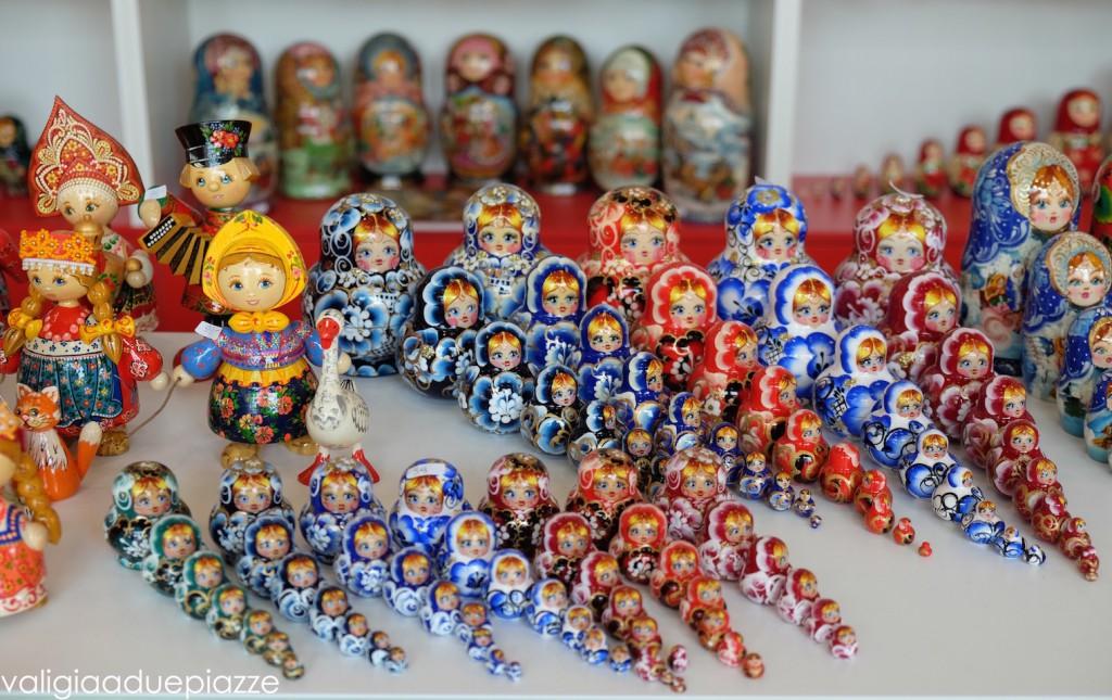 russia pavilion matrioska