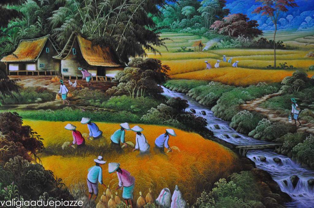 arte bali indonesia