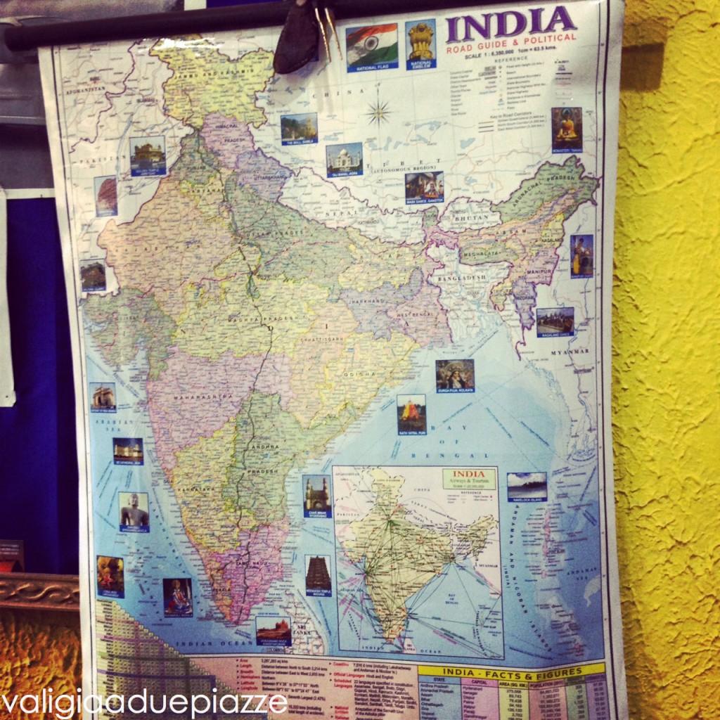 cartina India