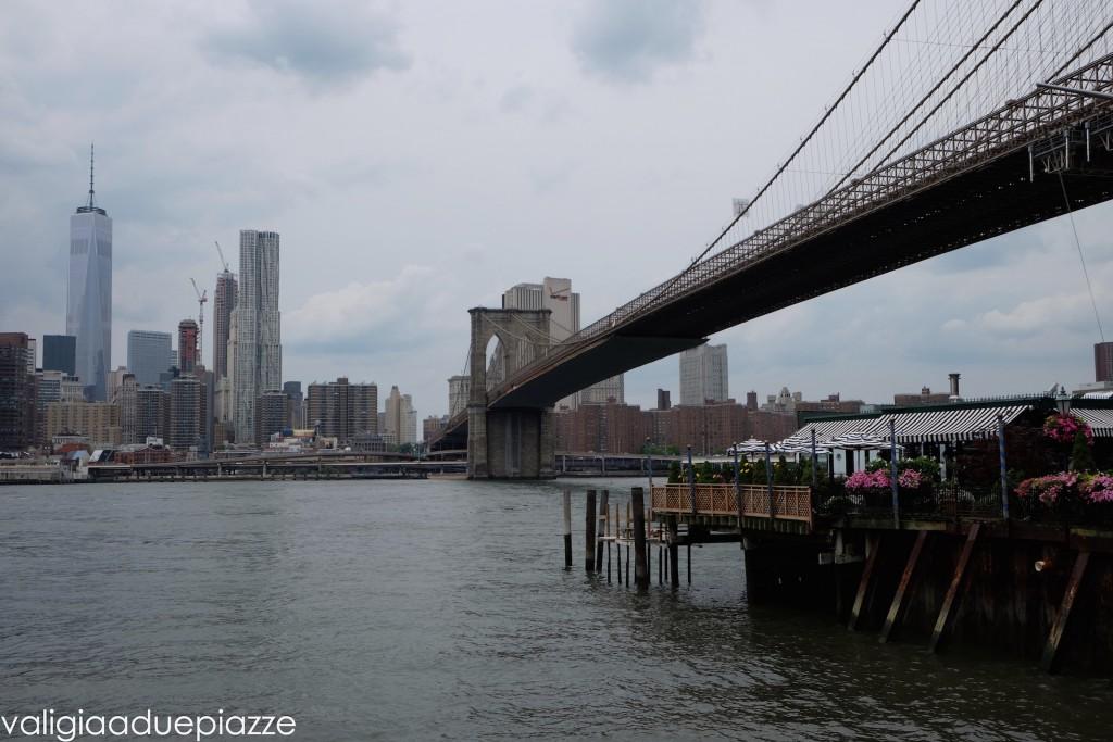 One World Trade Center e il nuovo skyline di Manhattan da Brooklyn