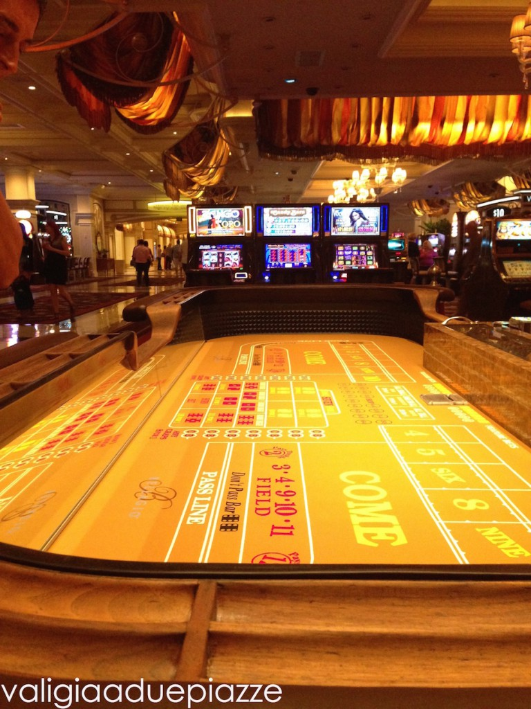 tavolo da gioco bellagio las vegas