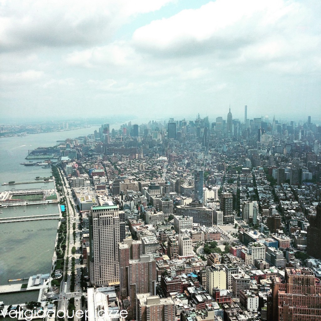 view from freedom tower new york