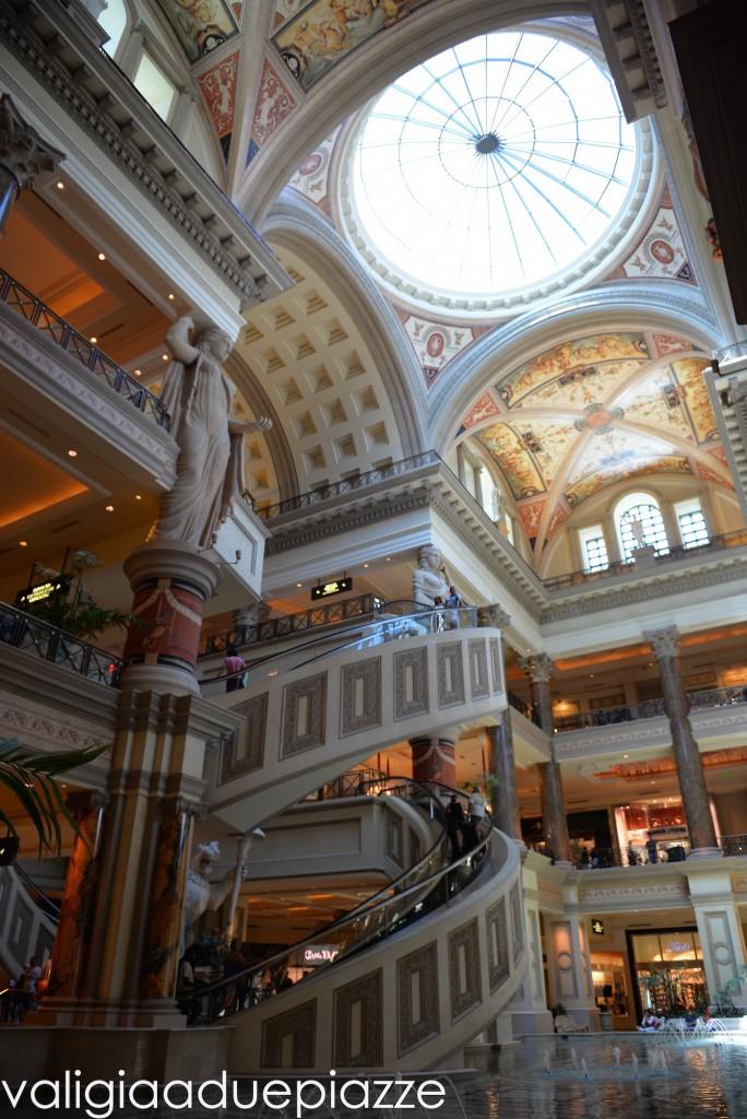 Caesars Palace interno Las Vegas