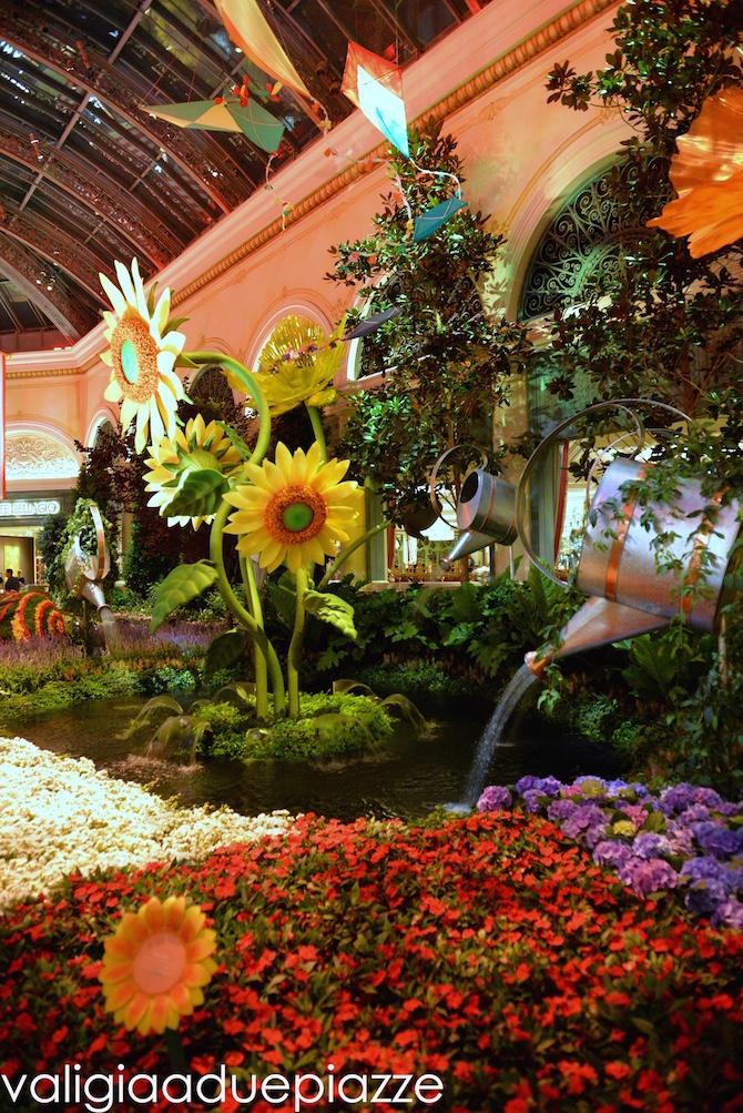 giardino inverno Bellagio Las Vegas