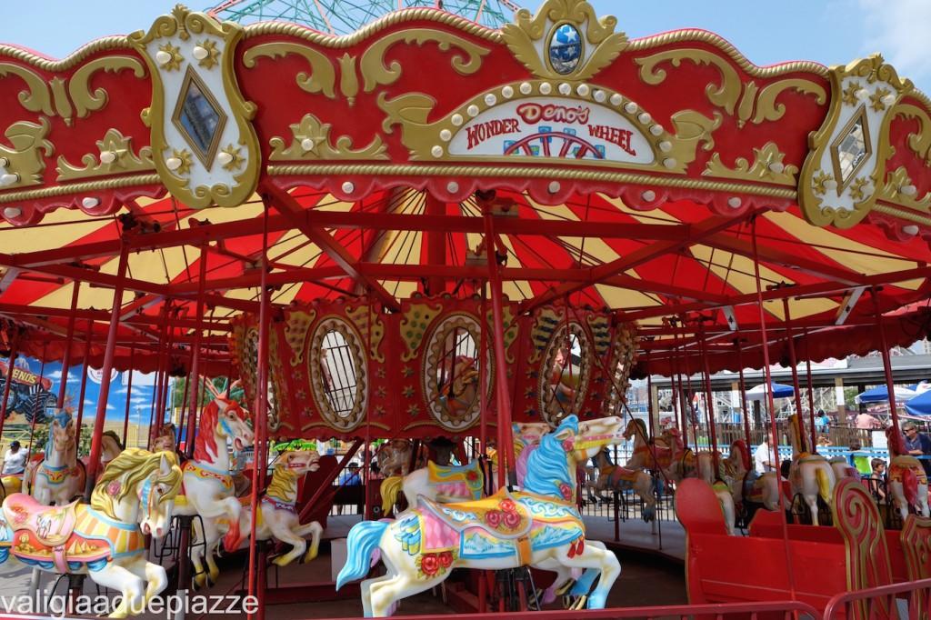 carousel luna park coney island