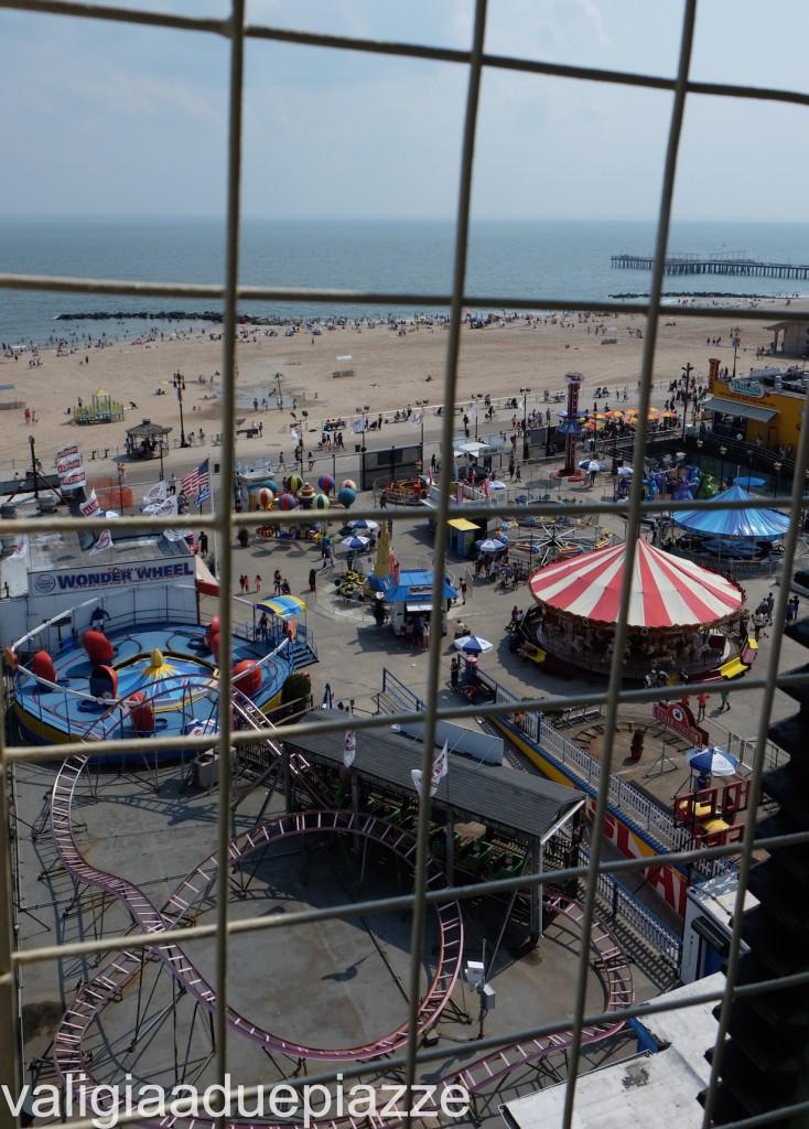 panorama wonder wheel coney island