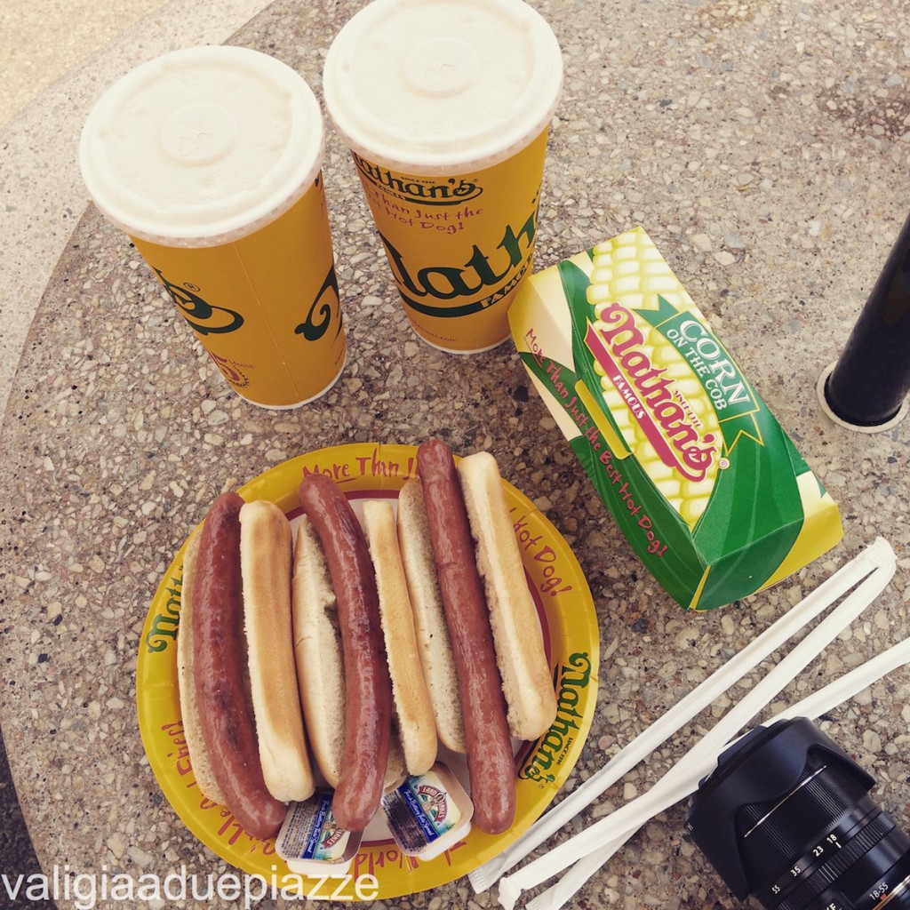 hot dog nathan's famous coney island