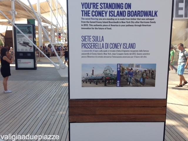 padiglione stati uniti expo milano 2015 coney island
