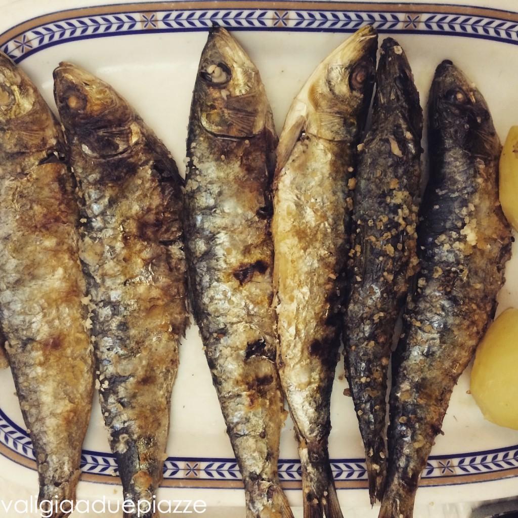 sardine alla griglia lisbona