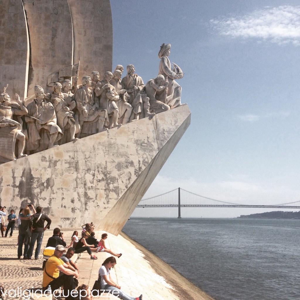 Pedrão dos Descobrimentos, tributo alle scoperte dei navigatori portoghesi, tra cui Vasco da Gama. Si trova a Belém.