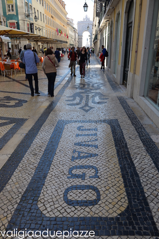 Rua Augusta, nella Baixa.