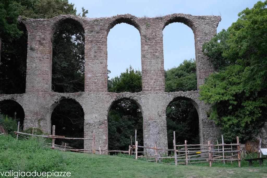 acquedotto monterano vecchia