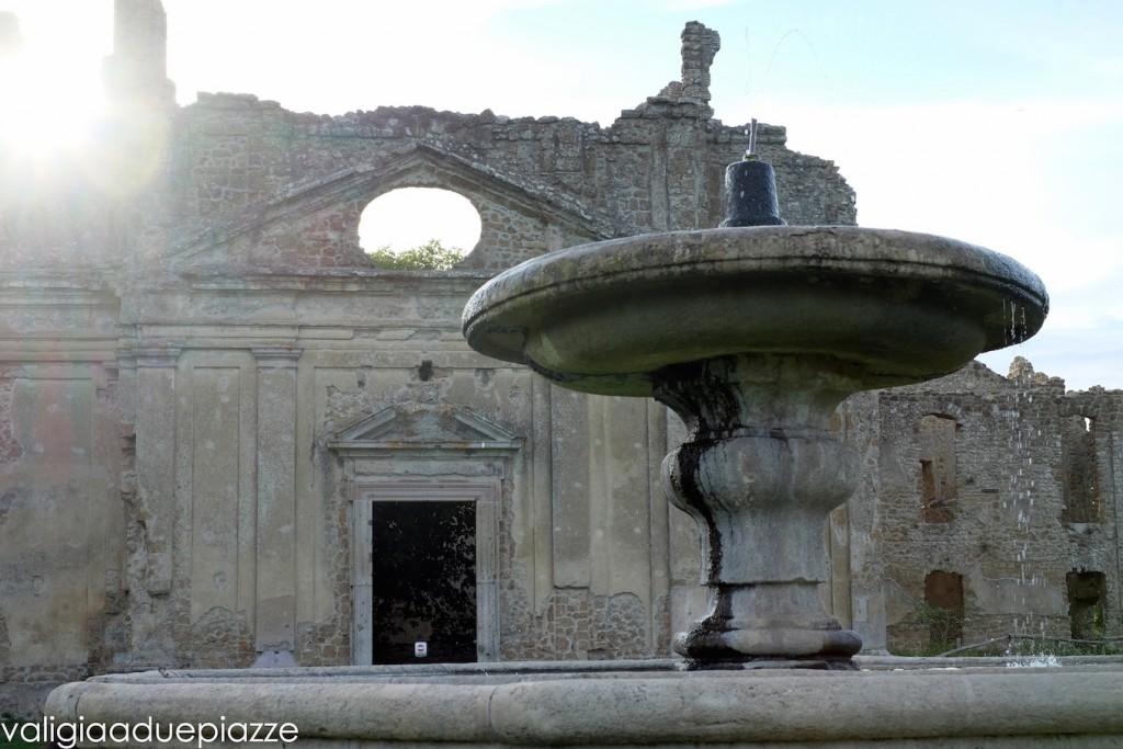 antica monterano chiesa