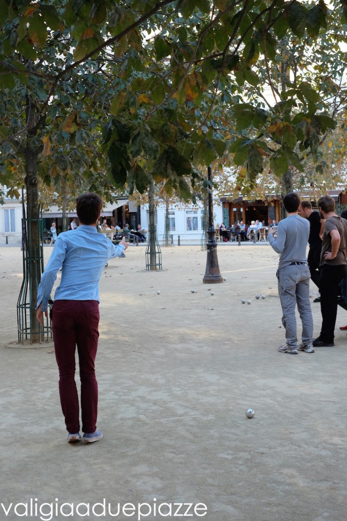 petanque place dauphine paris