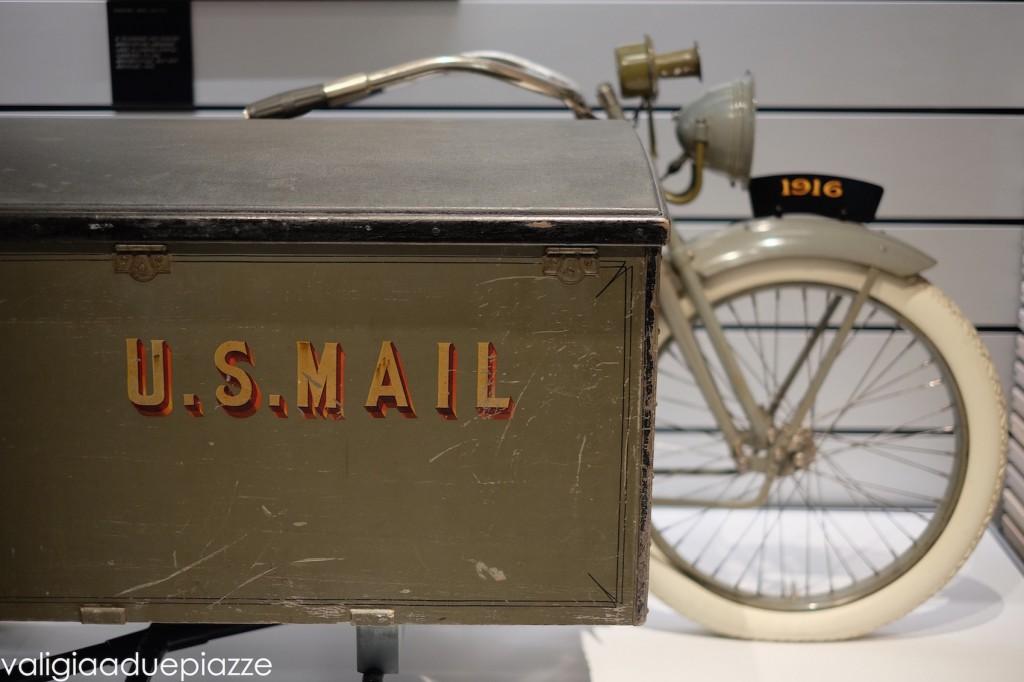 US mail harley davidson