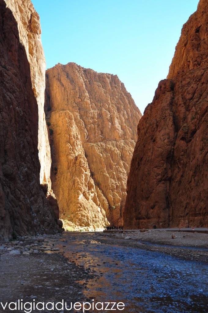 Il canyon delle Gole del Todra
